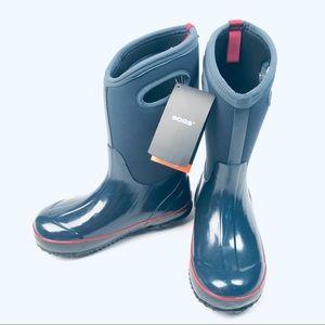 Bogs Blue Neoprene Waterproof Youth Boots